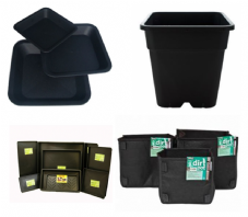 Pots, Bags & Trays